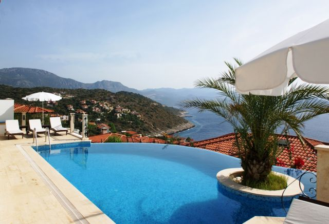 Villas in Kas, luxury villa babs