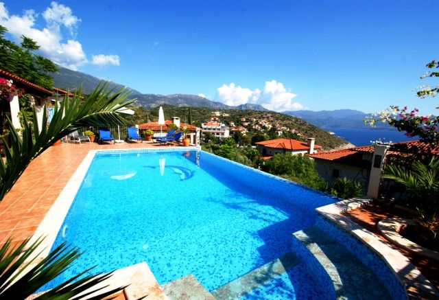 Kas Holiday Villas, villa scarlett